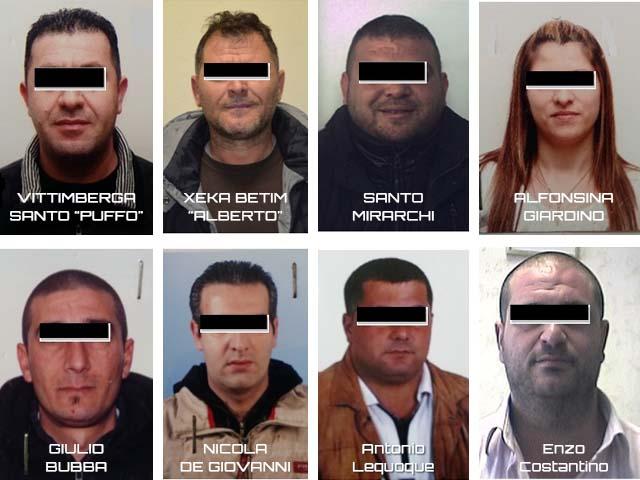 """Operazione """"Black island"""": Polizia smantella spaccio droga tra Crotone e Catanzaro: 17 arresti-VIDEO"""