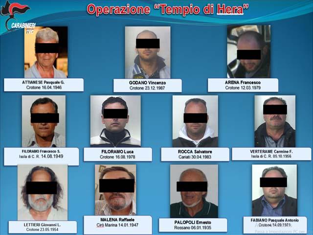 Crotone: traffico reperti, 12 arresti