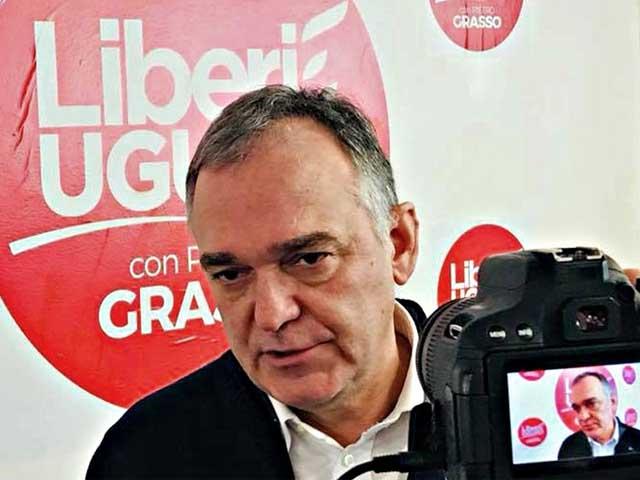 Salerno, Liberi e Uguali: il Presidente della Regione Toscana con Conte