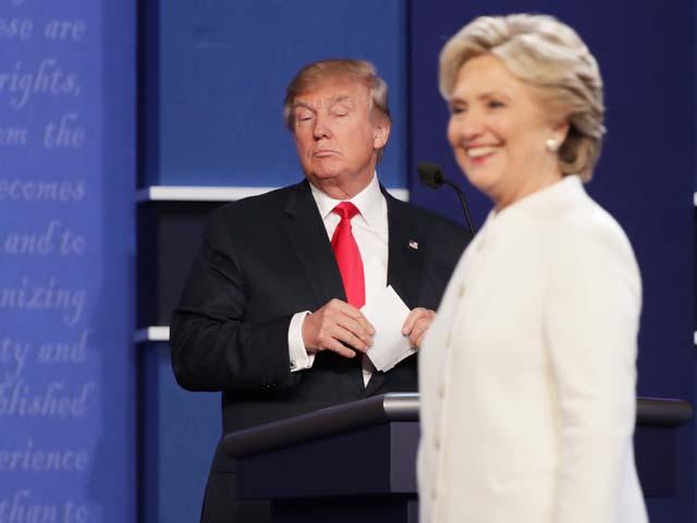 Duello tv, Hillary vince Trump, difficoltà in crescita