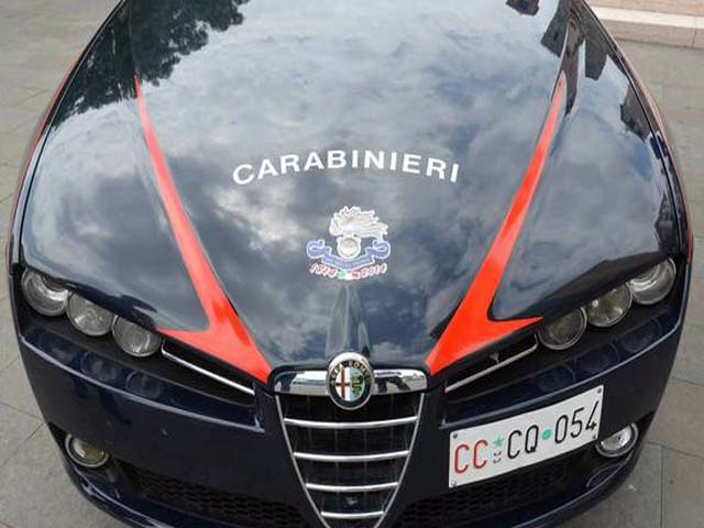 carabinieri muso gazzella generica
