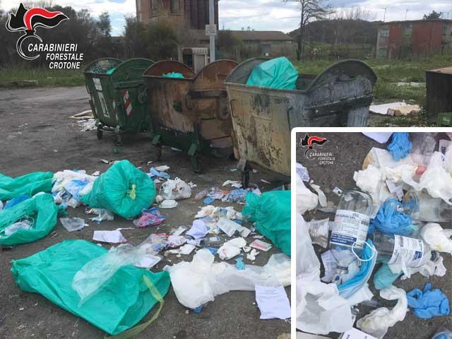 rifiuti clinica carabinieri