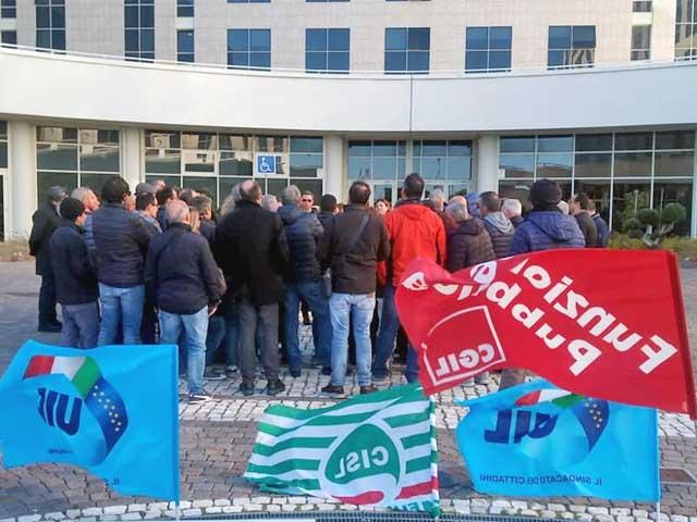 sciopero dipendenti corap cittadella regione calabria