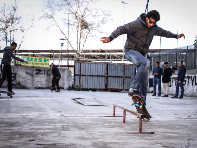 skater open space uisp