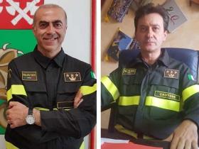 Pier Nicola Dadone e' il nuovo comandante provinciale del corpo dei Vigili del fuoco di Crotone: Antonino Casella assegnato a Pavia