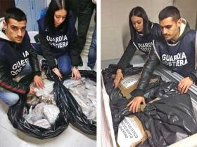 Operazione ''Undersize 2'' della Capitaneria, sequestrati oltre 3 tonnellate di prodotti ittici ed elevate 44 sanzioni per 155.000 euro