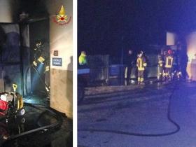Tragedia a Isola Capo Rizzuto: scoppia incendio in azienda di catering, un uomo perde la vita forse nel tentativo di domare l'incendio