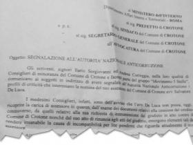M5s chiede l intervento dell autorit nazionale for Arredo inox crotone